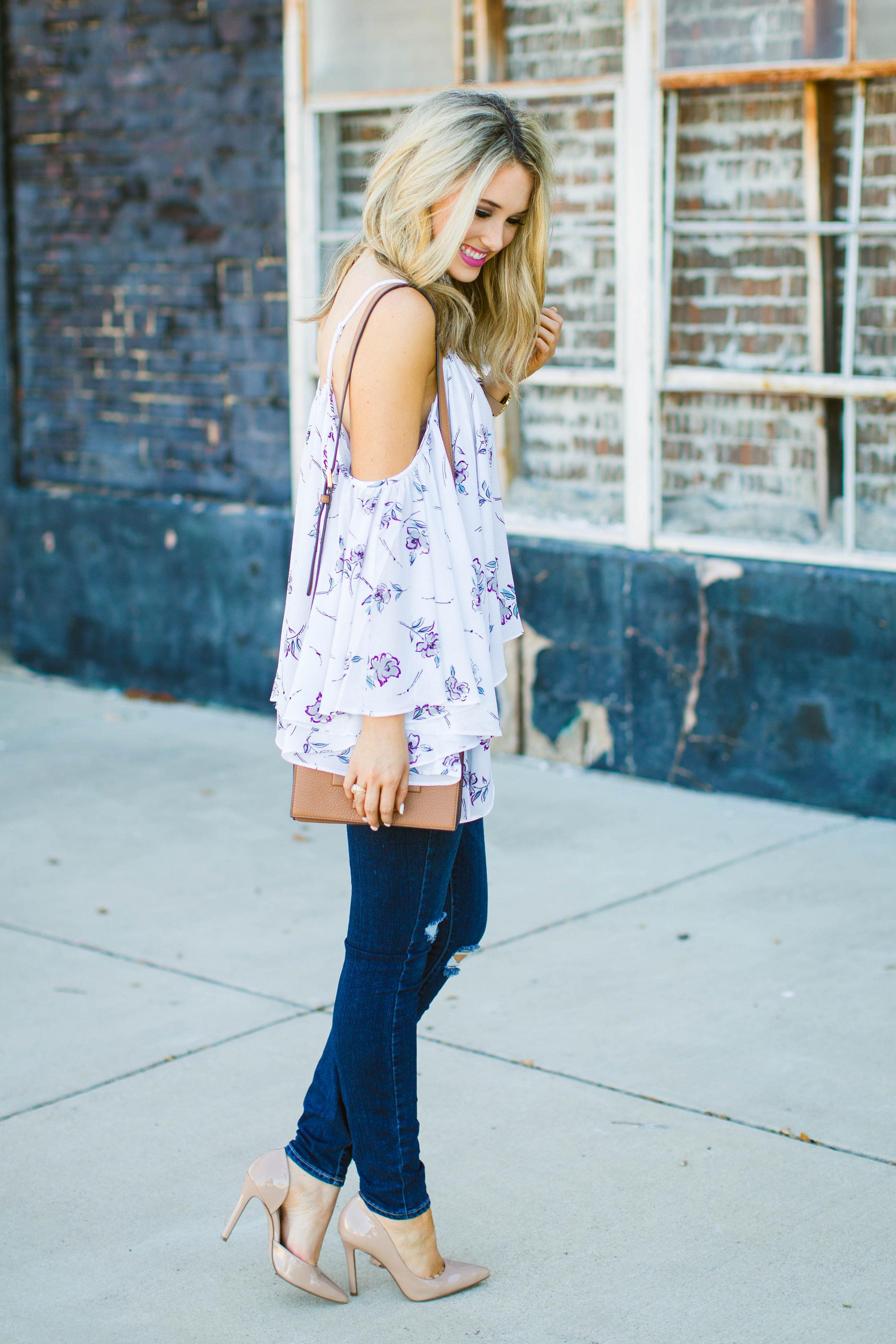 Emily Herren Floral Top