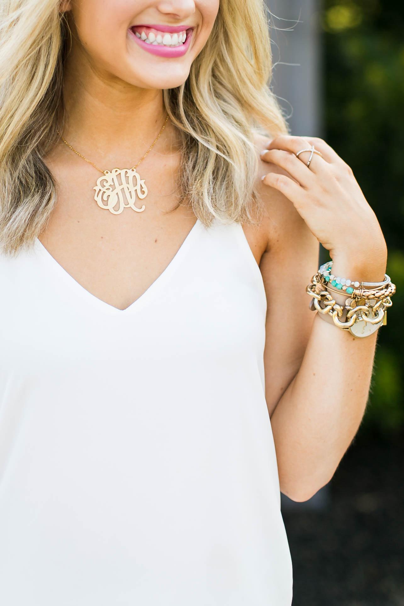 Julia Marie Monogram Necklace