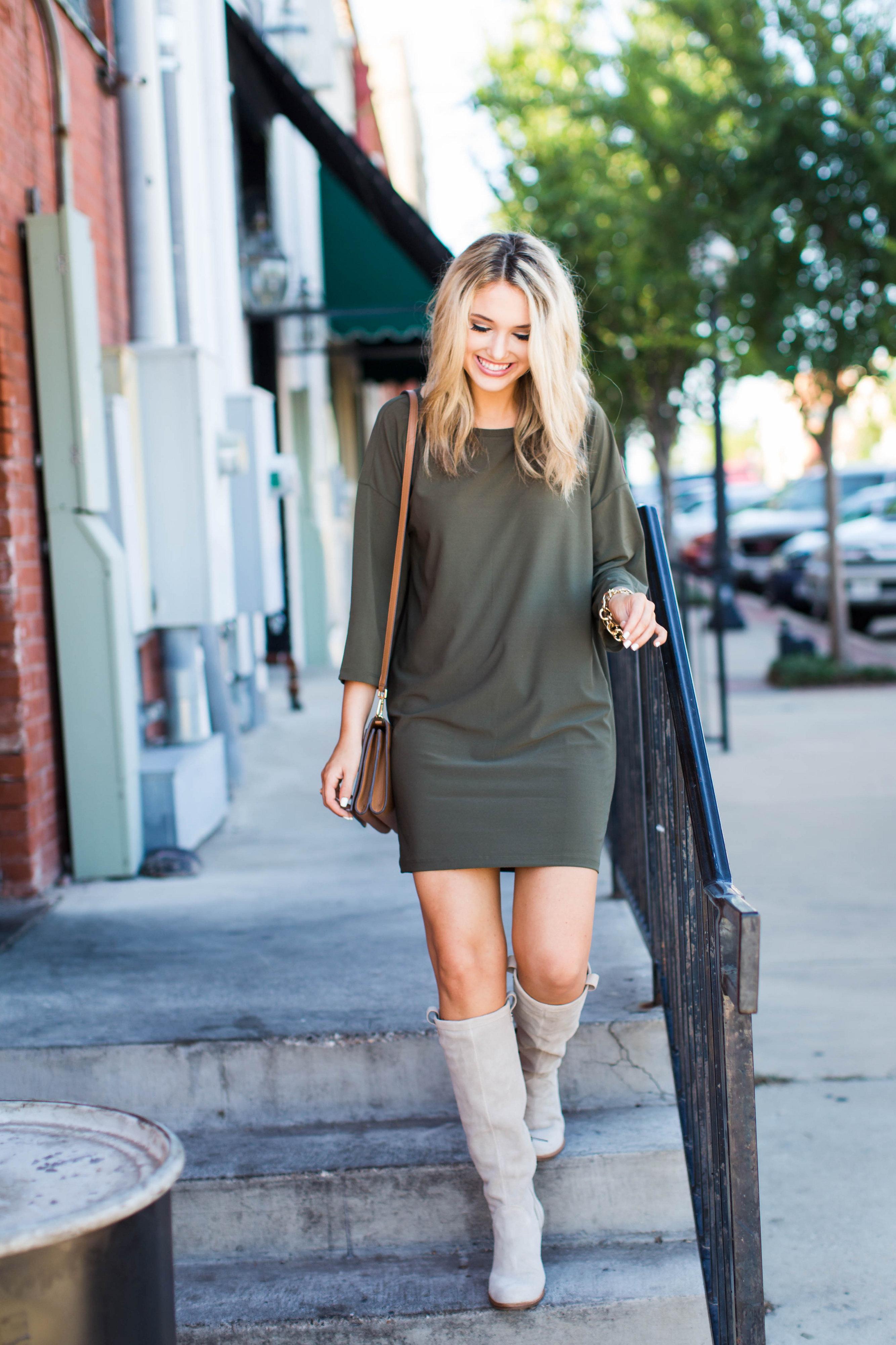 olive green dress boots