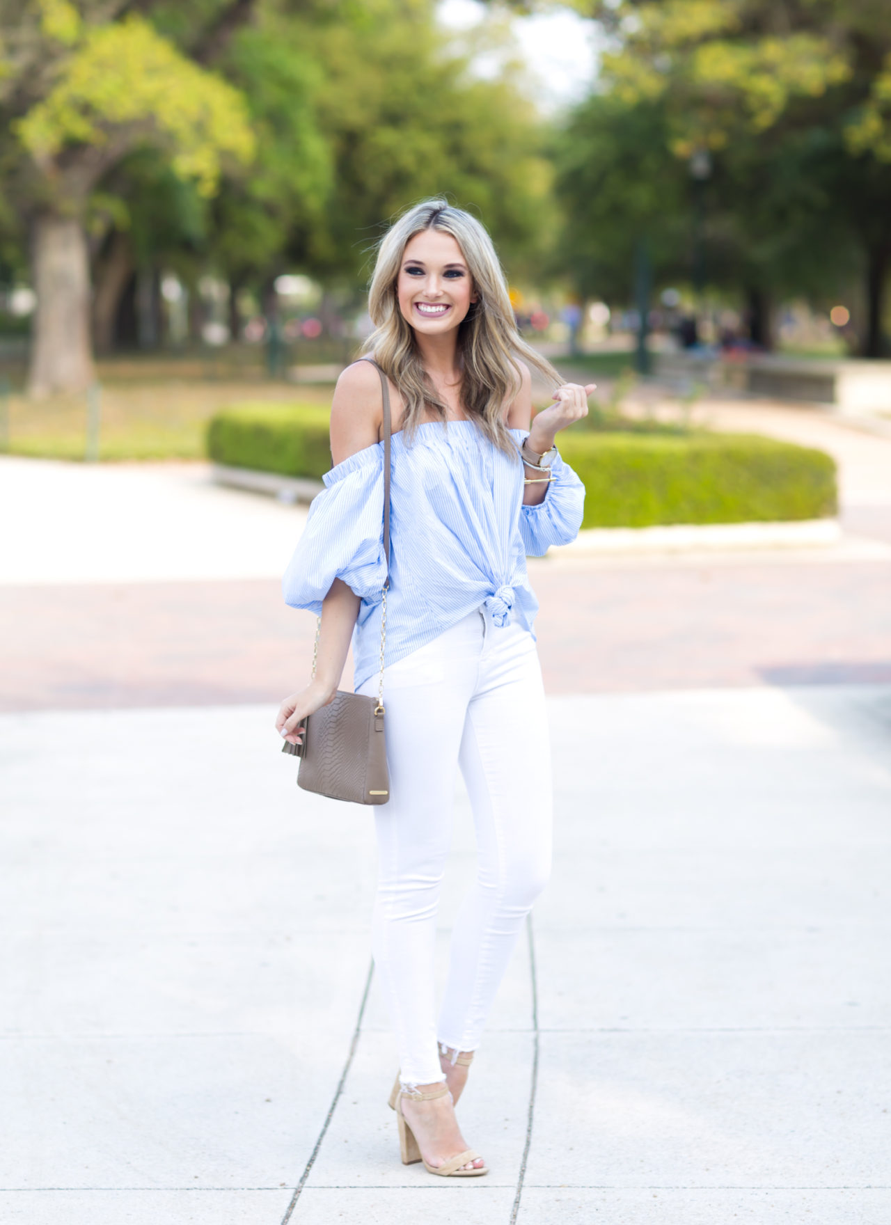 Spring Trend: Blue and White Stripes