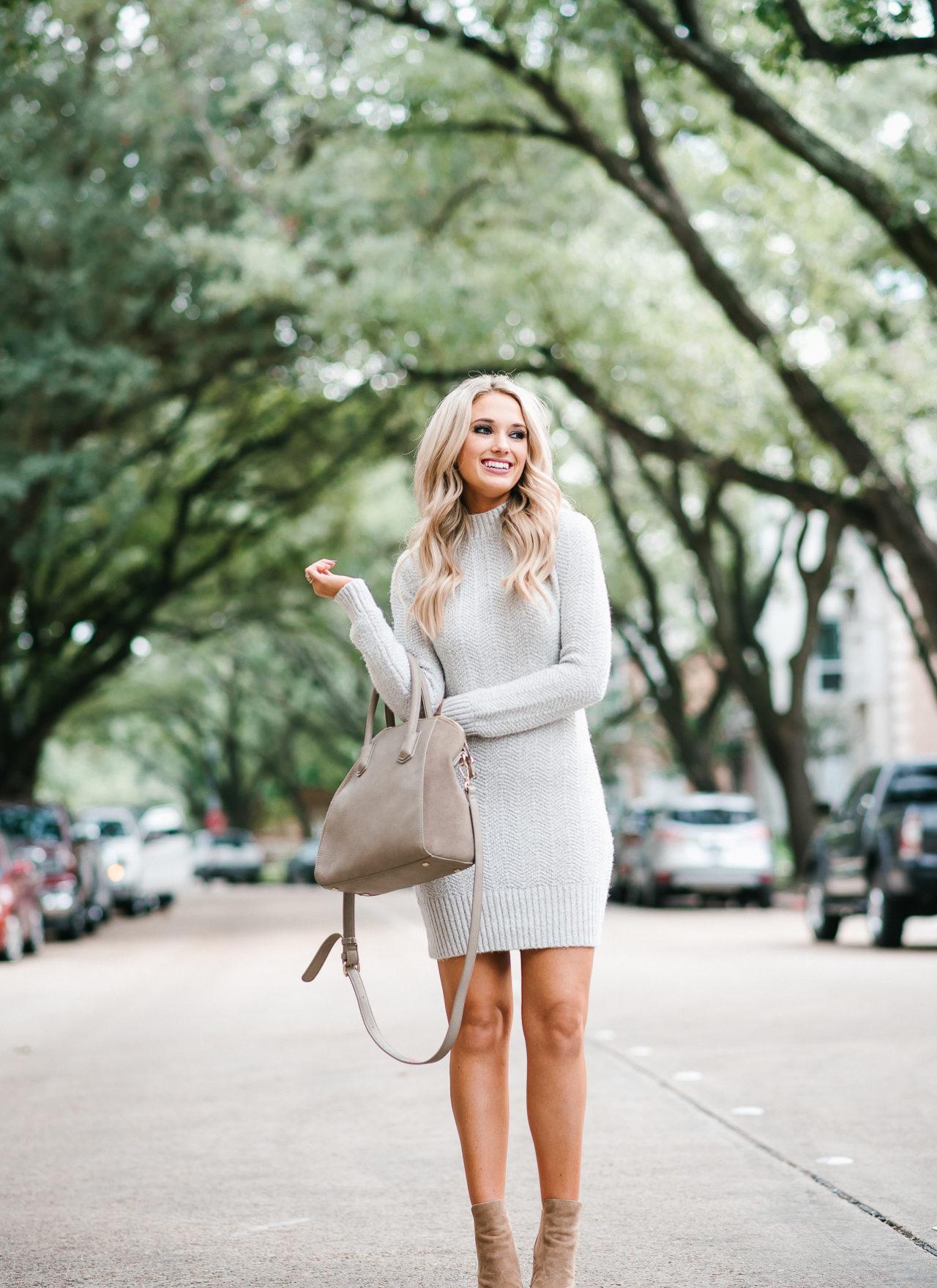 Sweater Dress & Booties