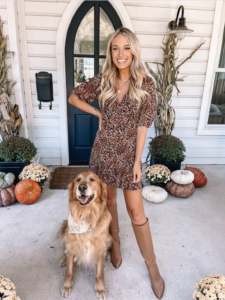 Fall Dresses with Nordstrom